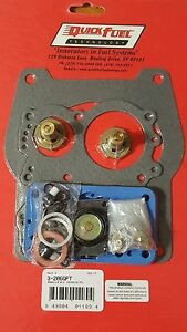 Details About SPREADBORE Rebuild Kit HOLLEY Carburetor Non Stick 6210 80555 Quick Fuel 3 206