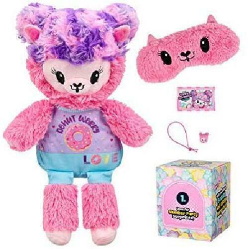Pop pikmi Flips pyjama Lamas Poppy Paillette recueillir Cuddle Plush Toys Kids UK