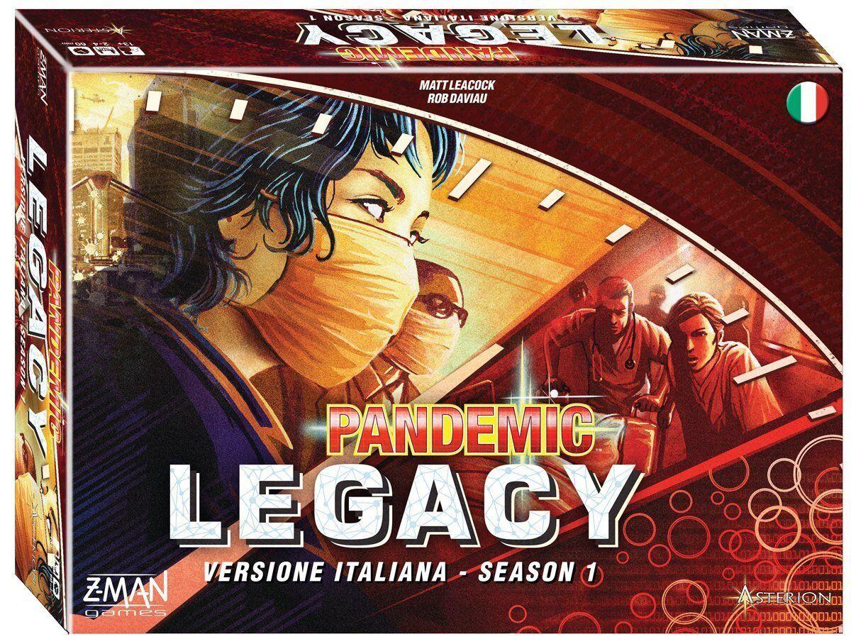 GDT Gioco da Tavolo - Pandemic Pandemia Legacy Season 1 Rossa Asterion ITALIANO