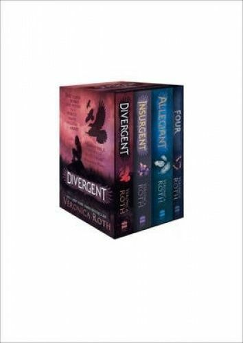 1 of 1 - Divergent Series Box Set (Books 1-4): Books 1-4 by Veronica Roth (Paperback, 20…