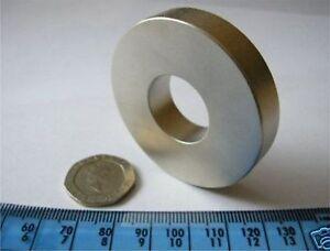 1-Huge-D50-x-D20-x-10mm-Ring-Magnet-NdFeB-Neodymium