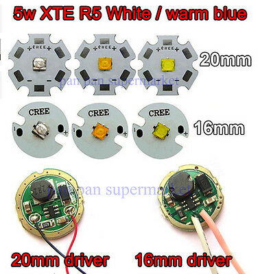 5 Mode//1Mode Constant Current 2800mA DC 12V XML T6 Led Driver For Cree XML FM