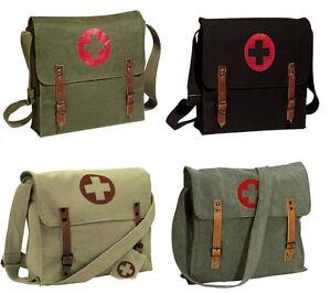 Rothco Vintage Medic Bag With Cross