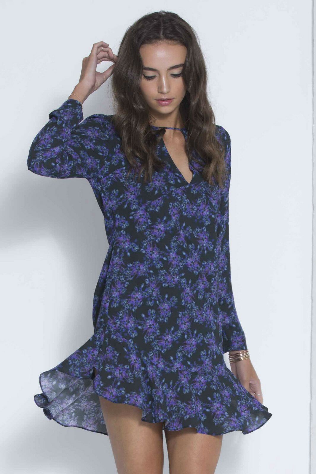 NEW THREE OF SOMETHING WALLFLOWER HOLLOWS DRESS, RRP  180 MED TO XL