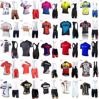 Men Bike Cycling Short Jersey Shirt Race Tops Maillots Road Team Clothing N03