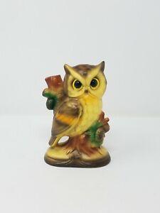Vtg-Japon-Buho-Ceramica-Porcelana-Decoracion-Hogar-Animal-Ave