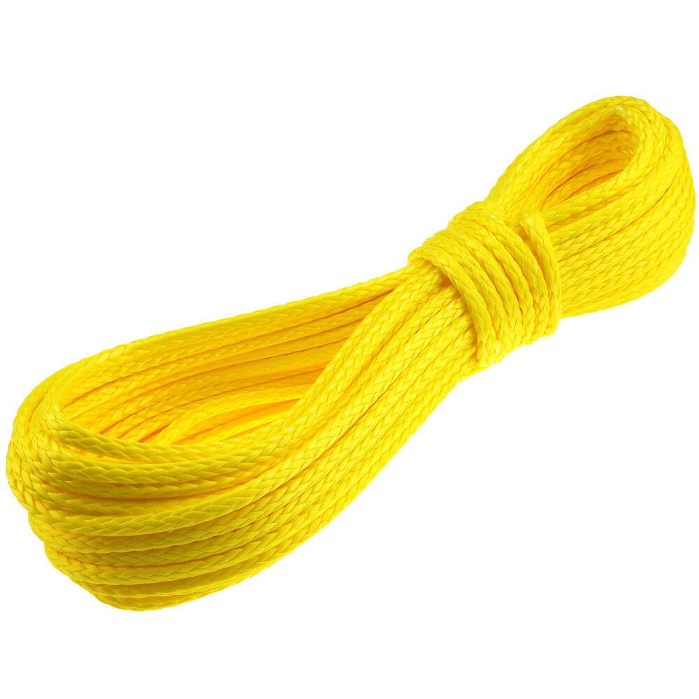 Dyneema PRO Rope Cord 6mm 10m yellow braided