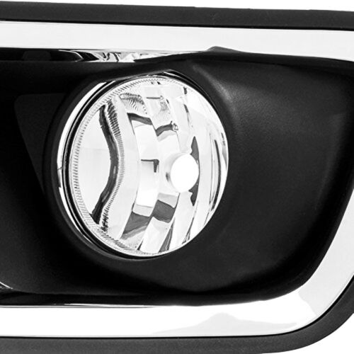 2015 2016 2017 Chevy Colorado Replacement Complete Bumper Driving Fog Lights Set