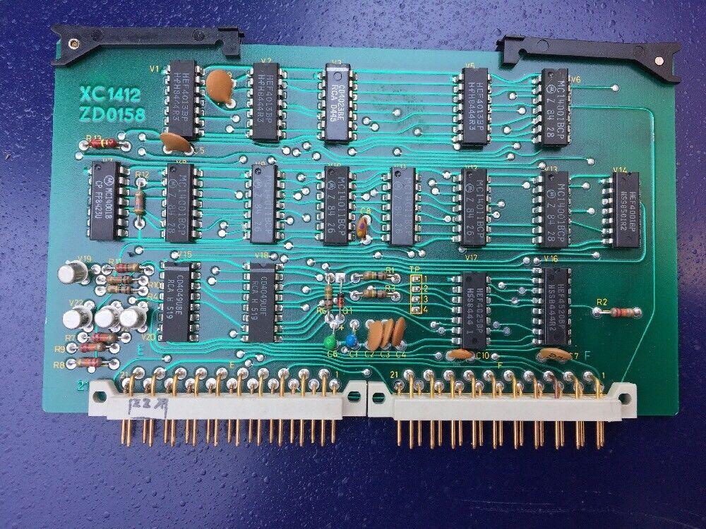 Bruel & Kjaer Electronic Card Non Testé    Not Tested Type Xc1412 Zdo158