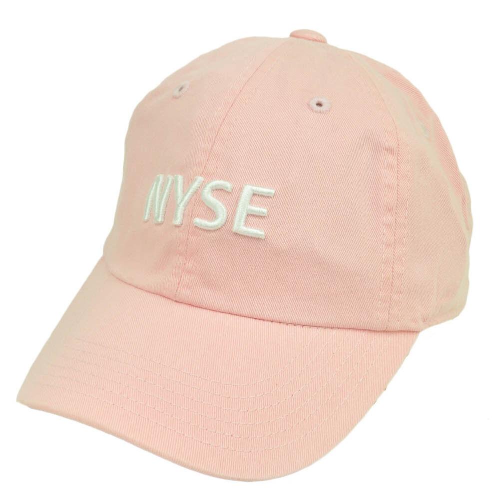 Nyse New Chapeau York Stock Exchange Jeune Rose Décontracté Chapeau New Bonnet Courbé Bill a28371
