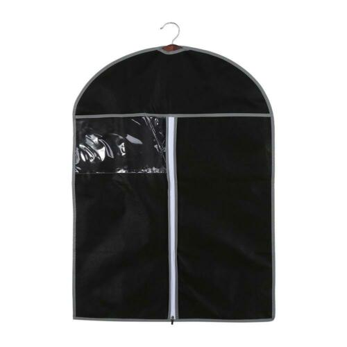 Breathable Zipper Type Suit Cover Hanging Garment Clothes Protector Bags 60*80cm
