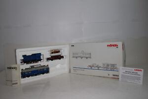 Marklin Echelle Ho #28502 Royale Corps De Transport Locomotive & Marchandise Set