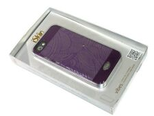 New iSkin SWIPH5-PE3 Vibes Purple Swirl Case for iPhone 5 - FREE SHIPPING