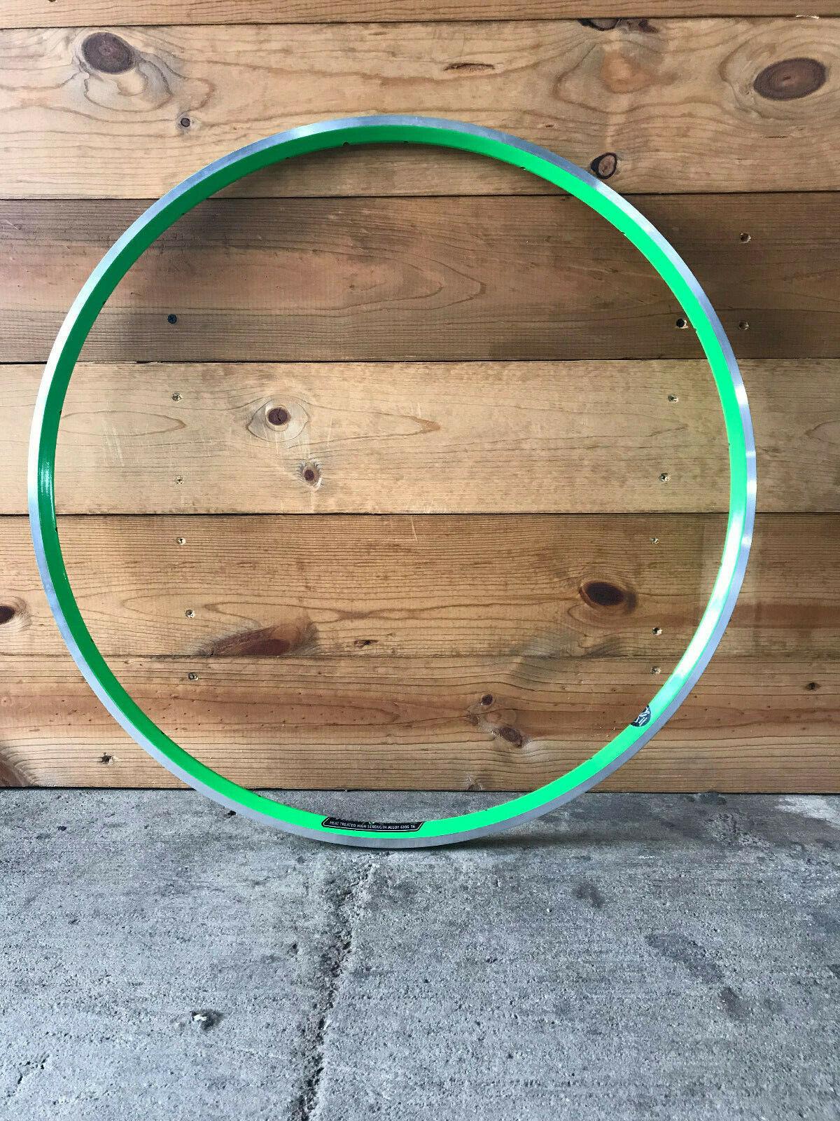 Velocity Aerohead Rim 700c 18  Hole Ma ned Sidewall, Green  online fashion shopping