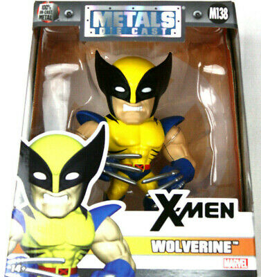 "Jada Toys Metals Marvel 4/"" Classic Figure Wolverine M138 Toy Figure"