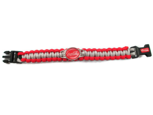BRAND NEW-Free Shipping Coca-Cola Paracord Bracelet