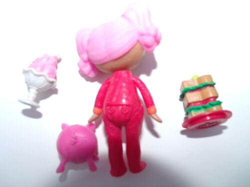 Retired HTF Lalaloopsy Mini Doll PEPPER/'S MIDNIGHT SNACK