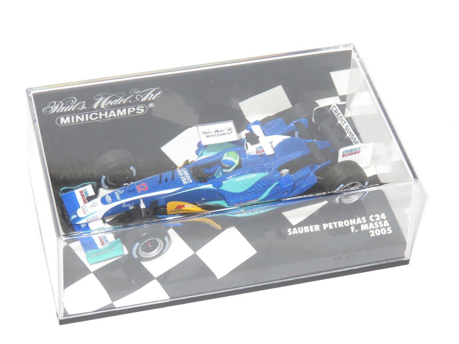 1 43 Sauber Petronas C24    2005 Season   F.Massa