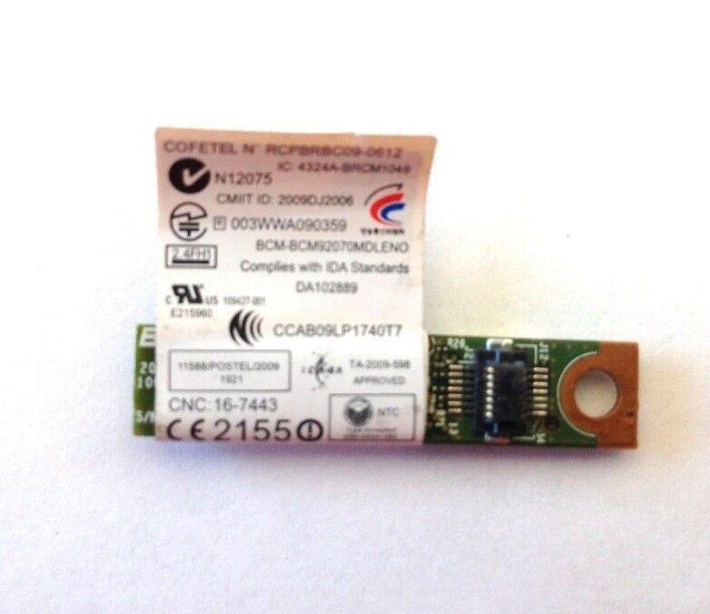 Lenovo Thinkpad Bluetooth BT3.0 FRU 60Y3212 BCM92070MD_LENO T420 X220 T520 W520