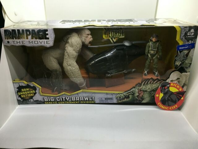 Ralph Set Action Toy Figure The Rock Movie Rampage Big City Brawl Kids Gift For Sale Online Ebay