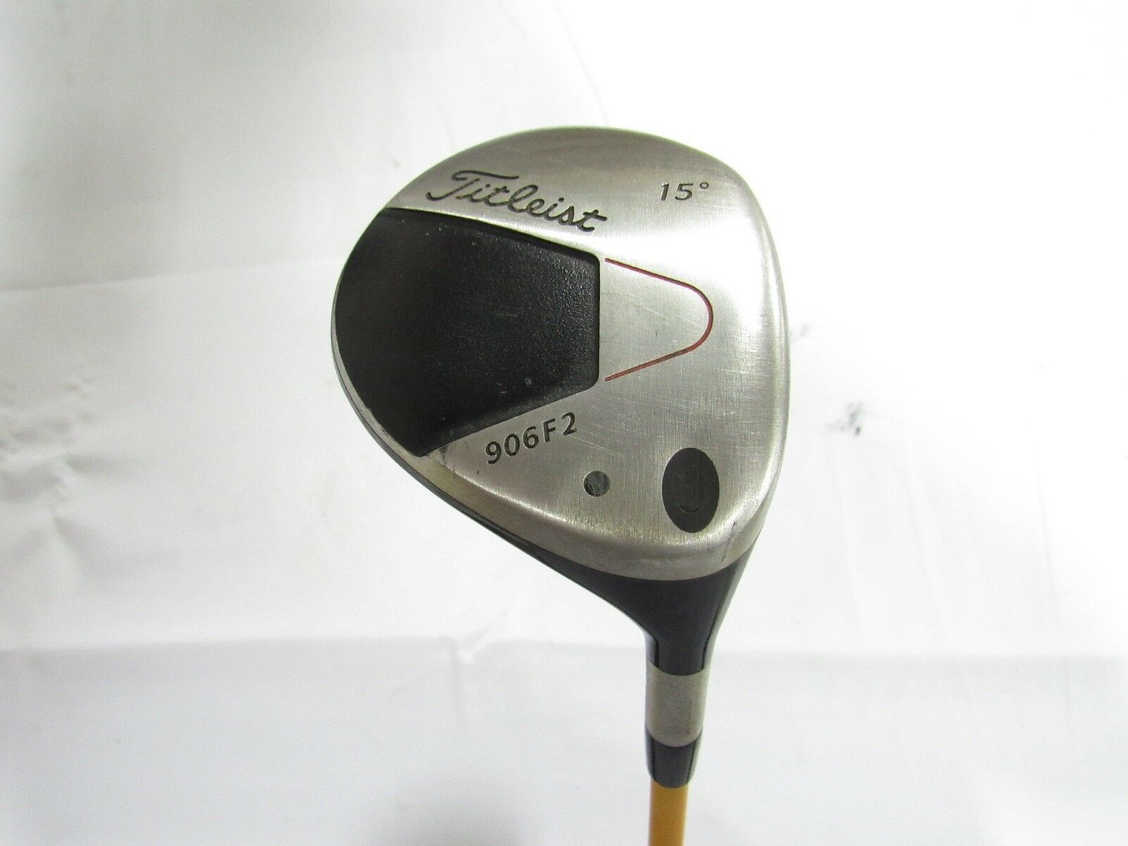 Usado RH Titleist 906F2  Fairway 15  Proforce oro V2 Grafito Stiff Flex  para barato