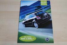 95772) Fiat Stilo Linea Class + Sport Prospekt 200?