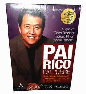 Livro Pai Rico Pai Pobre Robert Kiyosaki Rich Dad Poor Dad Portuguese Mvb New Ebay