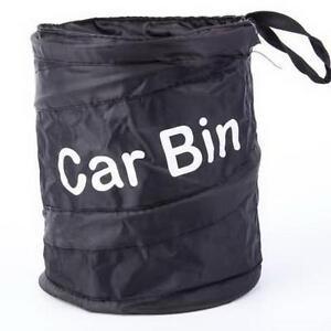 Mini bin for car trash garbage rubbish collapsible foldable waste basket o ebay - Collapsible waste basket ...
