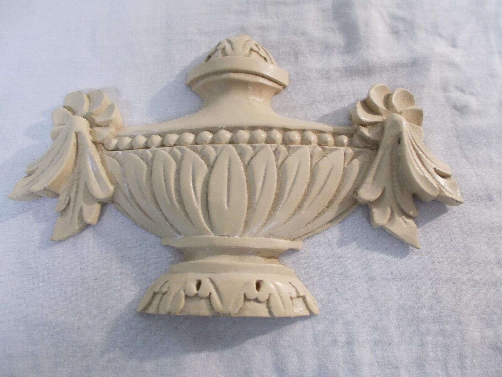 Urne ornée caoutchouc caoutchouc ornée silicone moule ~ créer faire résine plâtre etc bricolage artisanat ~ fbd67b