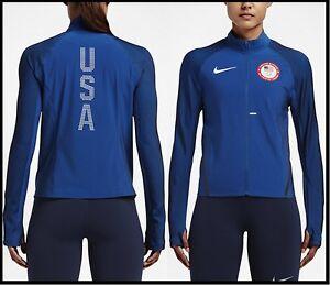 b99b56886bbc NWT 250 M~L~XL Nike Flex Team USA Olympics Full-Zip Reflective ...