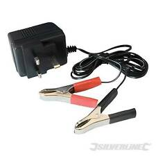 12V Trickle Charger Compact 500mA constant output plug-in BATTERY CHARGER