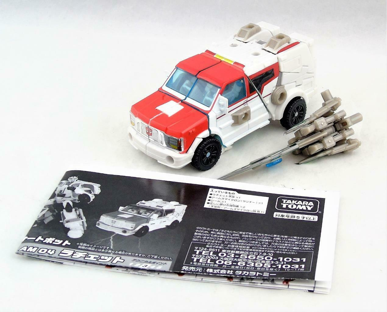 Transformers Prime Takara Japanese Release Deluxe Class Ratchet Complete AM-04