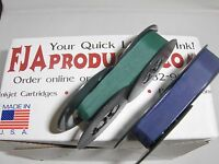 Royal Arrow Portable Typewriter Ribbon Ink - Blue And Green Ribbon Pack
