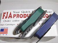 Royal Arrow Portable Typewriter Ribbon Ink - Blue And Green Ribbon Pack