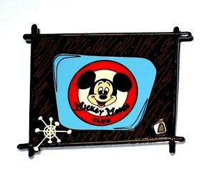 Le 100 Disney Auction Pin Mickey Mouse Club Classic Television Vintage Tv Rare Ebay