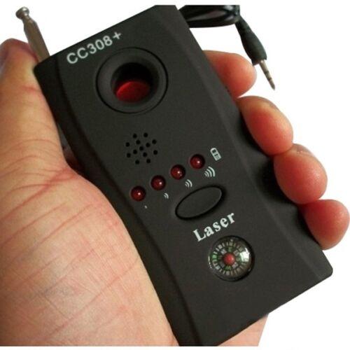 Anti-Spy Rf Signal Bug Detector Hidden Camera Laser Lens Bugging Device Finder