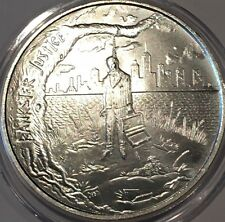 Bankster Justice Debt Is Slavery End The FED 1 Troy Oz .999 Fine Silver Round Ag