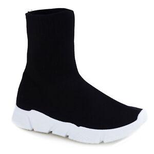 Caricamento dell immagine in corso Scarpe-donna-calzino-elasticizzato-sport -tessuto-elastico-sneakers- af0b16c9637