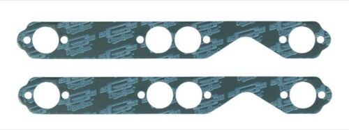 Mr Gasket Exhaust Manifold Gasket Set 5902; Ultra-Seal Steel-Core Lam for SBC