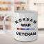 Curved Korean War Veteran Coffee Mug