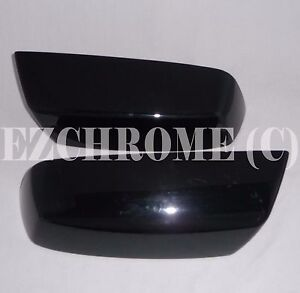 USED-Replacement-Black-Top-Half-Mirror-Covers-for-Chevy-Silverado-GMC-Sierra