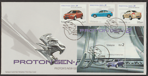 F328Z-MALAYSIA-2005-PROTON-GEN-2-NEW-GENERATION-STAMPS-amp-MS-ON-1-FDC