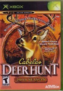 Cabela's Deer Hunt: 2004 Season For Xbox Original Game Only 6E