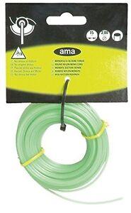AMA MONO nylon decespugliatore/trimmer/decespugliatore Cavo 2.0mm x 15m  </span>