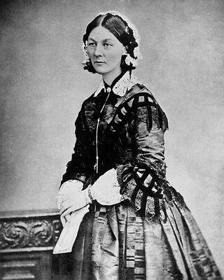 New 8x10 Photo: English Nurse Florence Nightingale, Founder of Modern Nursing