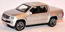VW Volkswagen Amarok Doppelkabine Pick-Up 2010-16 silber metallic 1:43 Bburago