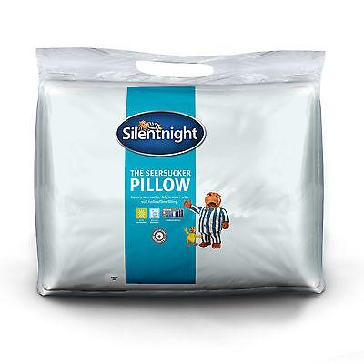 Silentnight Seersucker Pillow Pair