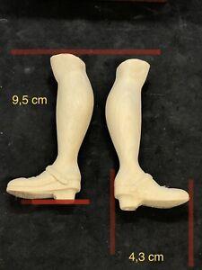 Coppia piedi scarpe statue Donna Figura restauro pastori statua 4,3 Cm pianta
