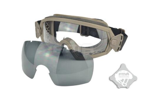 FMA LPG01BK12-2R Regulator Goggle BK TB970-DE