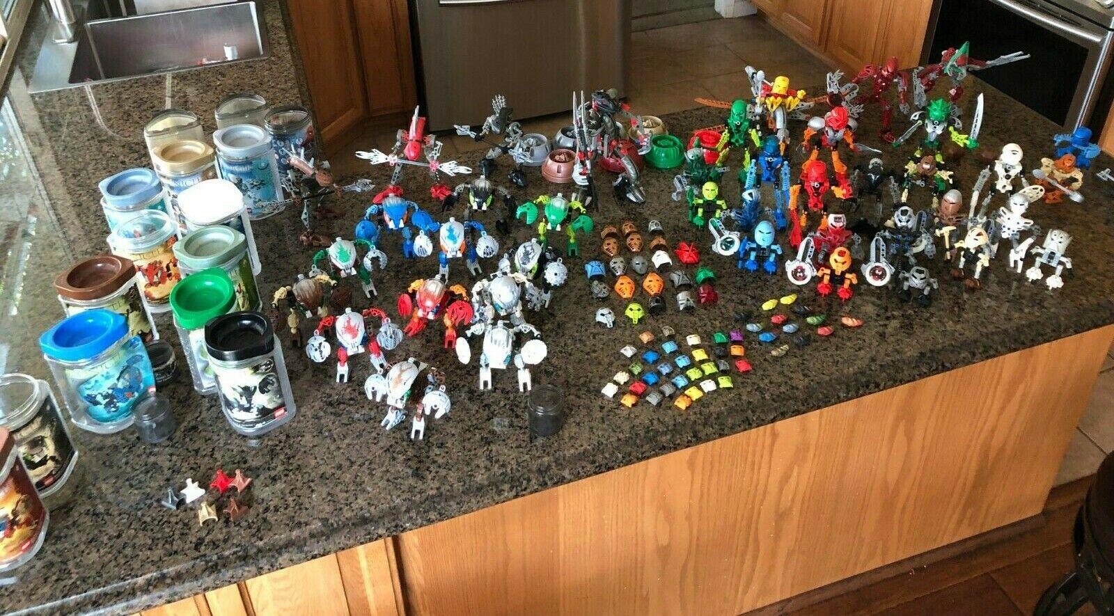 Lego Bionicle Colección  Coleccionables 63 y 42 juegos de Toa, Bohrok y más